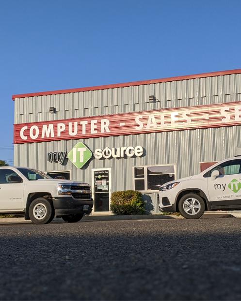 my IT source store in Brandon, Manitoba